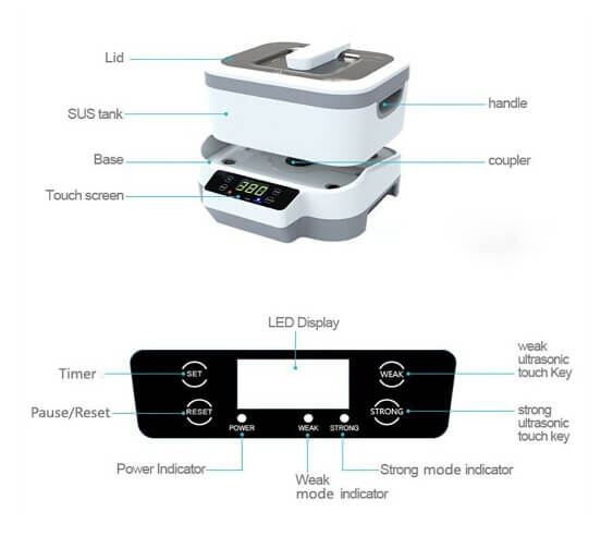 professional itltl ultrasonic cleaner